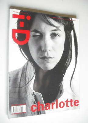 <!--2001-11-->i-D magazine - Charlotte Gainsbourg cover (November 2001)