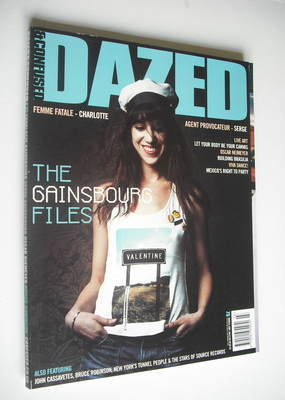 <!--2001-03-->Dazed & Confused magazine (March 2001 - Charlotte Gainsbourg