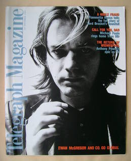 <!--1997-09-27-->Telegraph magazine - Ewan McGregor cover (27 September 199