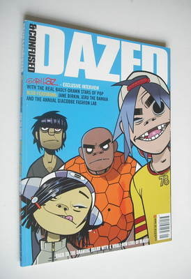 <!--2001-01-->Dazed & Confused magazine (January 2001 - Gorillaz cover)