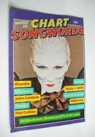 Chart Songwords magazine - No 25 - February 1981 - Steve Strange cover
