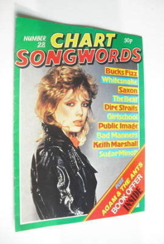 Chart Songwords magazine - No 28 - May 1981 - Kim Wilde cover