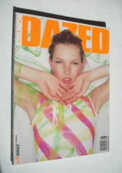 Dazed & Confused magazine (June 1998 - Kate Moss cover)