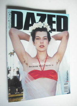 Dazed & Confused magazine (June 1999 - Milla Jovovitch cover)