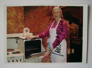 Vanessa Redgrave autographed photo