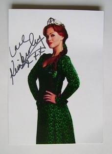 Kimberley Walsh autograph