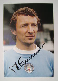 Mike Summerbee autograph