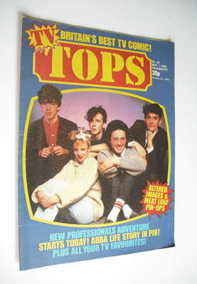 Tops magazine - 1 May 1982 - Altered Images cover (No. 30)