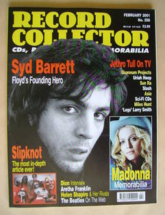 Record Collector - Syd Barrett cover (February 2001 - Issue 258)