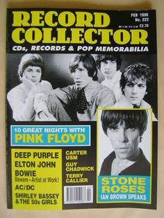 Record Collector - Pink Floyd cover (February 1998 - Issue 222)