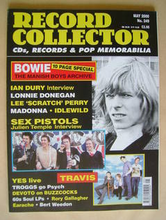 Record Collector - David Bowie cover (May 2000 - Issue 249)