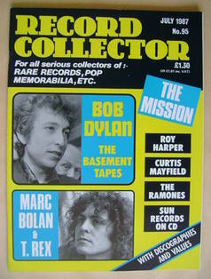 Record Collector - July 1987 - Issue 95