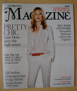 <!--2012-04-07-->The Times magazine - Kate Moss cover (7 April 2012)