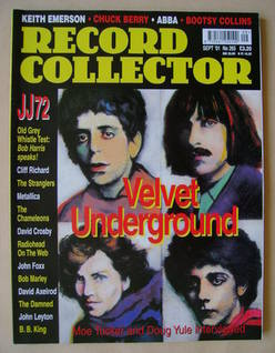 Record Collector - Velvet Underground cover (September 2001 - Issue 265)