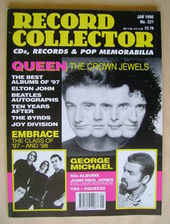 Record Collector - Queen cover (January 1998 - Issue 221)