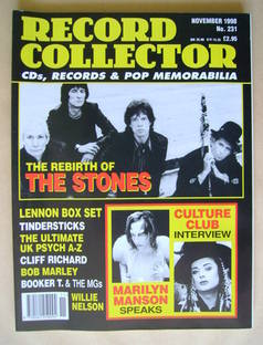 Record Collector - The Rolling Stones cover (November 1998 - Issue 231)