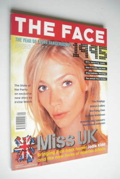 The Face magazine - Jodie Kidd cover (January 1996 - Volume 2 No. 88)