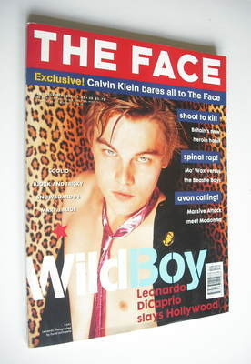 <!--1995-12-->The Face magazine - Leonardo DiCaprio cover (December 1995 -