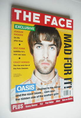 <!--1995-11-->The Face magazine - Liam Gallagher cover (November 1995 - Vol