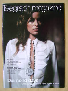 <!--2002-08-31-->Telegraph magazine - Jade Jagger cover (31 August 2002)