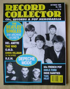 Record Collector - The Beatles cover (October 1998 - Issue 230)