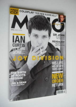 MOJO magazine - Ian Curtis cover (April 2005 - Issue 137)
