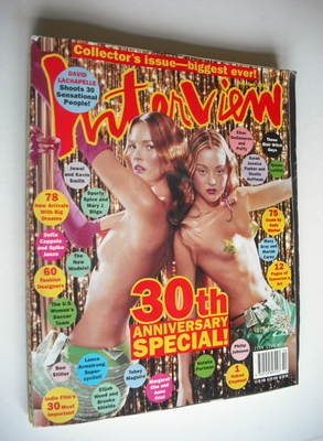 <!--1999-10-->Interview magazine - October 1999 - Kate Moss and Devon Aoki