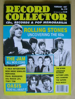 Record Collector - The Rolling Stones cover (February 1997 - Issue 210)