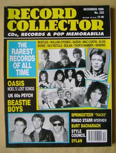 Record Collector - December 1998 - Issue 232