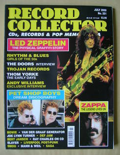 Record Collector - July 2000 - Issue 251