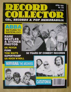 Record Collector - Abba cover (April 1999 - Issue 236)
