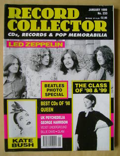 Record Collector - Led Zeppelin cover (January 1999 - Issue 233)