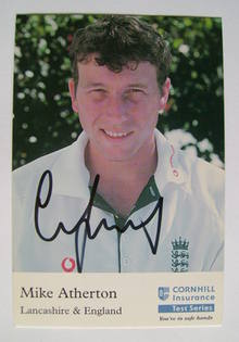 Mike Atherton autograph
