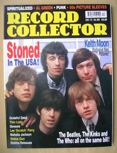 Record Collector - The Rolling Stones cover (December 2001 - Issue 268)