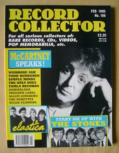 Record Collector - Paul McCartney cover (February 1995 - Issue 186)