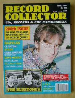 Record Collector - John Lennon cover (April 1996 - Issue 200)