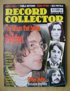 Record Collector - John Lennon cover (November 2001 - Issue 267)