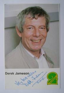 Derek Jameson autograph