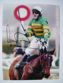 Tony (AP) McCoy autographed photo
