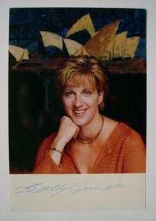 Sally Gunnell autograph