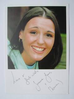 Suranne Jones autographed photo