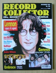 Record Collector - John Lennon cover (December 2000 - Issue 256)