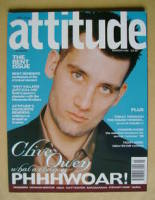 <!--1998-03-->Attitude magazine - Clive Owen cover (March 1998)