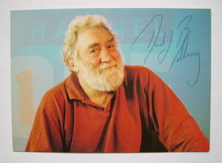 David Bellamy autograph (hand-signed photograph)