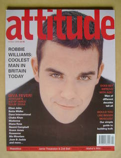 <!--1998-10-->Attitude magazine - Robbie Williams cover (October 1998 - Iss