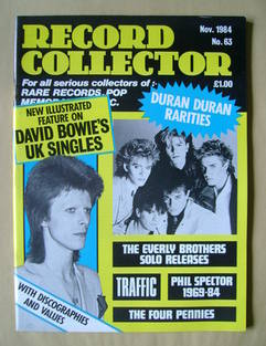 Record Collector - November 1984 - Issue 63