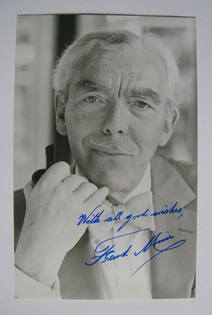 Frank Muir autograph (hand-signed photograph)