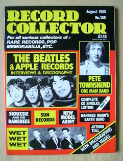 Record Collector - August 1988 - Issue 108
