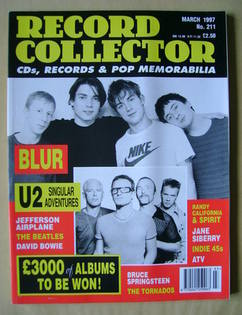 Record Collector - Blur cover (March 1997 - Issue 211)