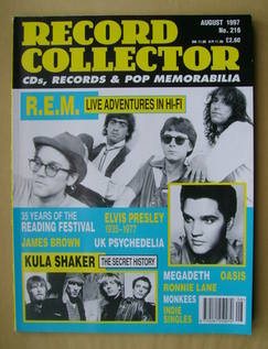 Record Collector - R.E.M. cover (August 1997 - Issue 216)